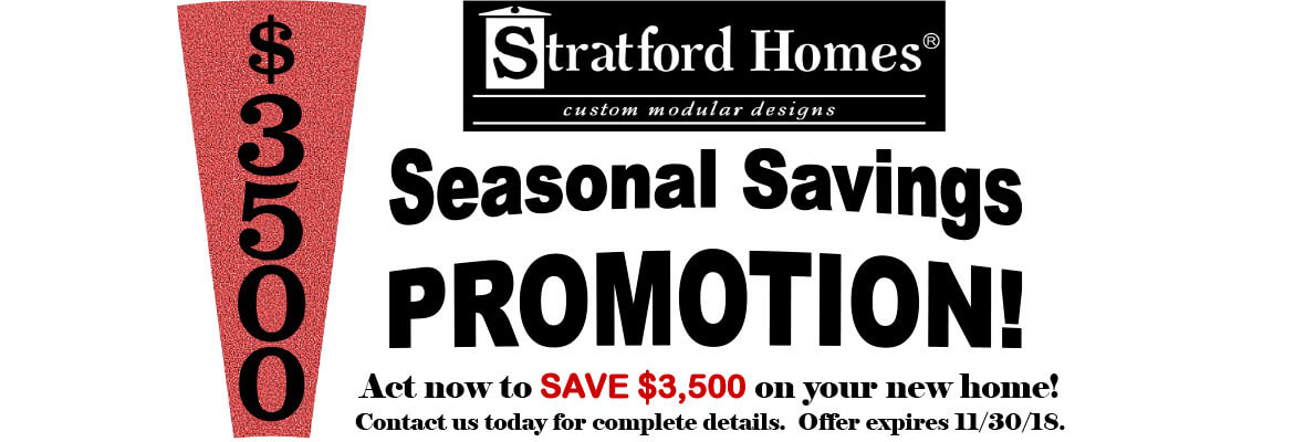 Seasonal Savings Promotion in Green Lake, WI